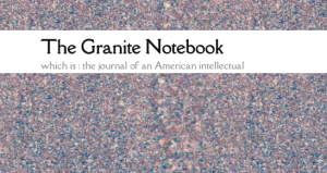 "The Granite Notebook via www.incandescencepress.com | Check out Cameron Lambright's website ""The Granite Notebook - which is: the journal of an American intellectual"" www.thegranitenotebook.com"